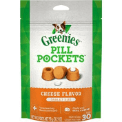 Greenies Cheese Pill Pockets, Tablets, 30 count