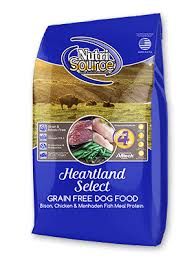 NutriSource Heartland Select Bison Grain Free Dry Food