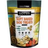 Lotus Grain Free Soft Baked Sardine & Herring Treats, 10 oz