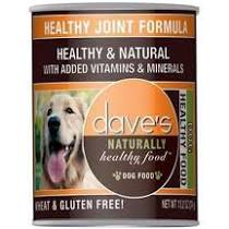 Dave's Canned Dog Food, Healthy Joint