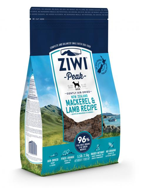 Ziwi Peak Air-Dried Mackerel & Lamb Dog Food