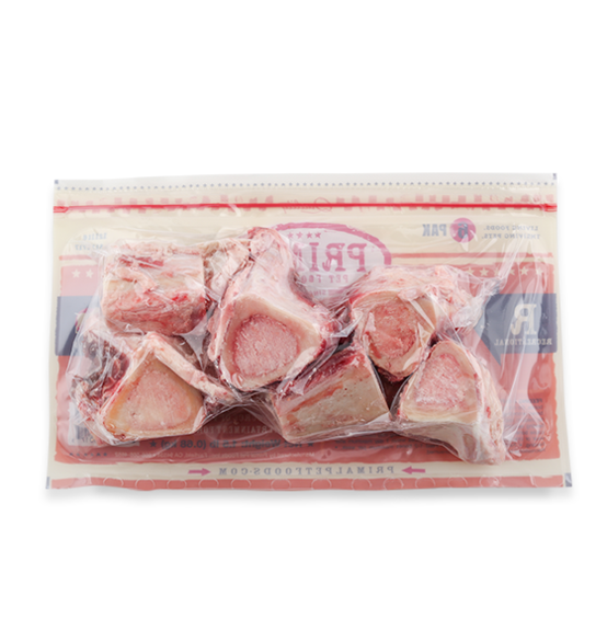 Primal Raw Beef Marrow Bones, 6pk