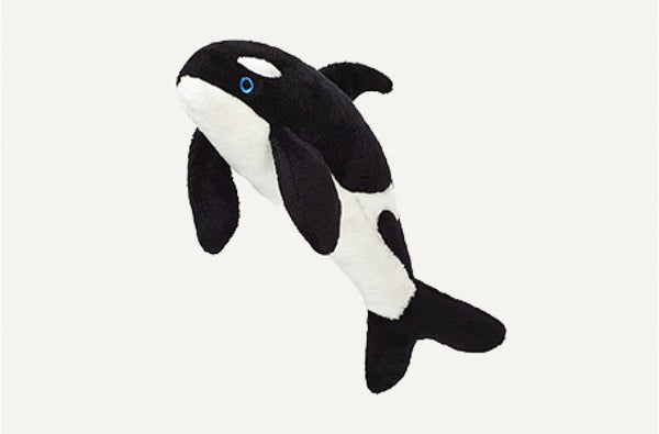 Fluff & Tuff Willie Orca Squeaky Toy