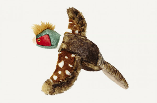 Fluff & Tuff Ike the Pheasant Squeaky Toy