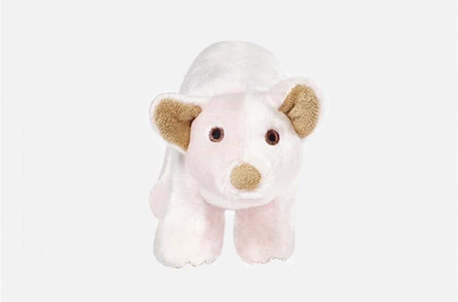 Fluff & Tuff Petey Pig Squeaky Toy