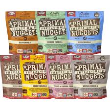 Primal Freeze-Dried Raw Food Nuggets