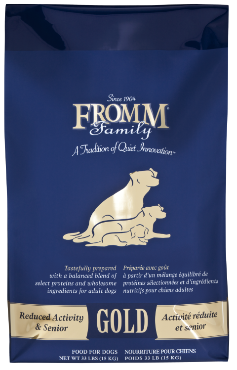 Fromm Gold Reduced Activity & Senior Dog Food