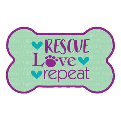 Rescue Love Repeat Magnet
