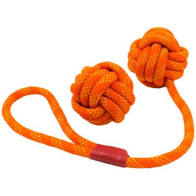 Tall Tails Floating Rope Toy Orange
