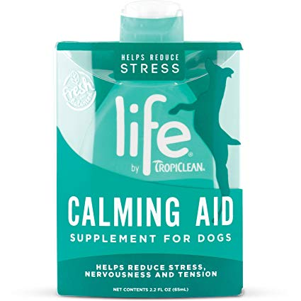 Tropiclean Life Calming Aid Dog Supplement 2.0 oz