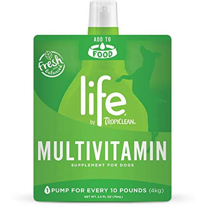 Tropiclean Life Multivitamin Dog Supplement