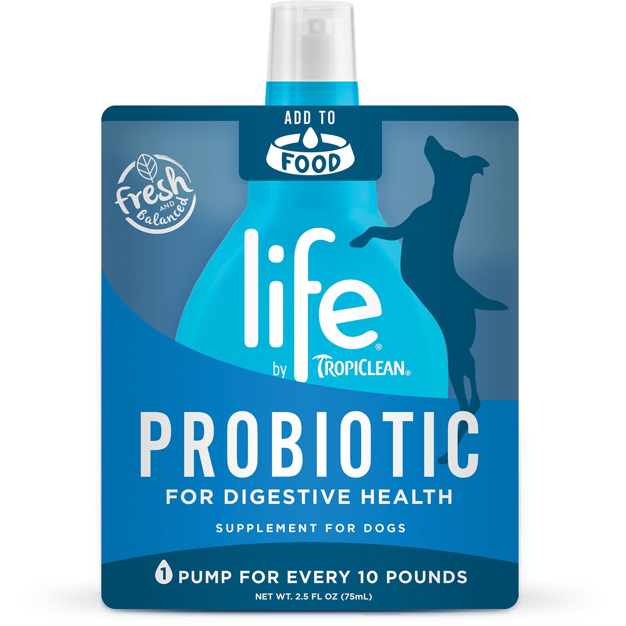 Tropiclean Life Probiotic Dog Supplement