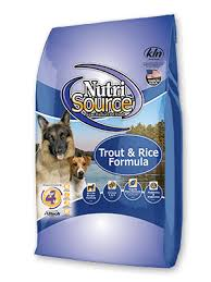 NutriSource Trout and Rice Dry Food