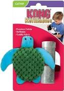Kong Refillables Catnip Toy, Turtle