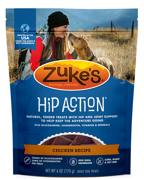Zuke's Hip Action Chicken, 6 oz