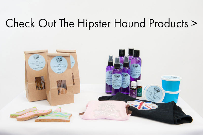 The Hipster Hound Dog Shampoos and Sprays