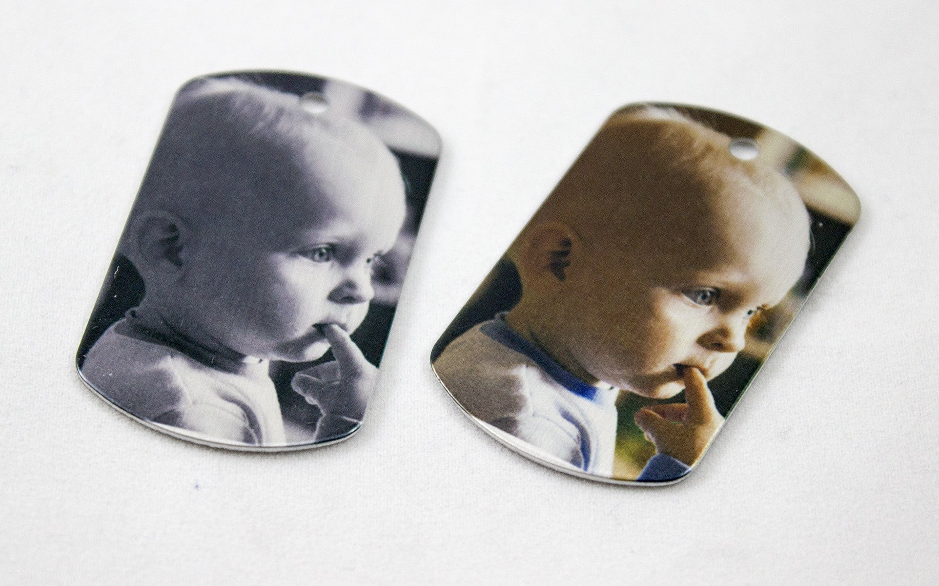 2 sided dog tags