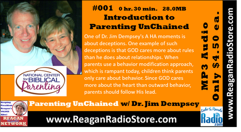 #001 - Parenting UnChained - Introducing Dr. Dempsey