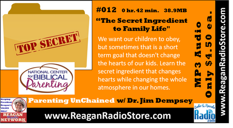 #012 - Parenting UnChained - The Secret Ingredient to Family Life