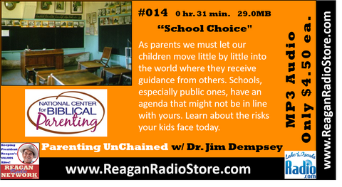 #014 - Parenting UnChained - School Choice