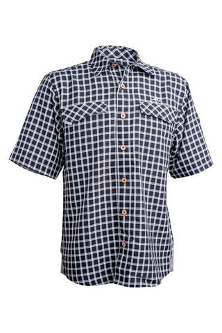 Coastal Plaid Short Sleeve