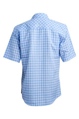 Traditional Coastal Plaid Short Sleeve