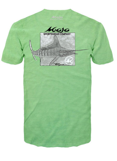 NEW! Marlin Etch - Bill Boyce Short Sleeve Pocket T-Shirt