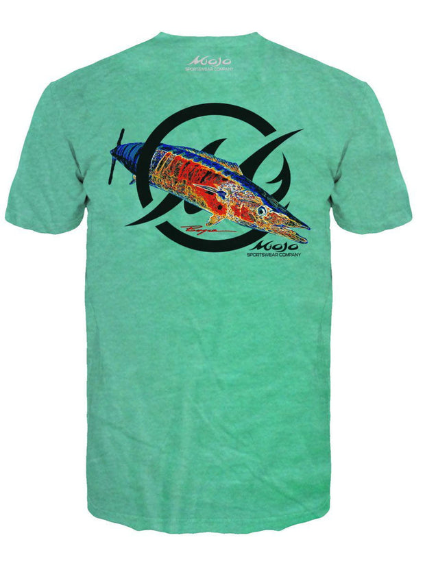 NEW! Wahoo - Bill Boyce Short Sleeve Pocket T-Shirt