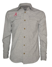 University of Alabama Coastal Linen Long Sleeve