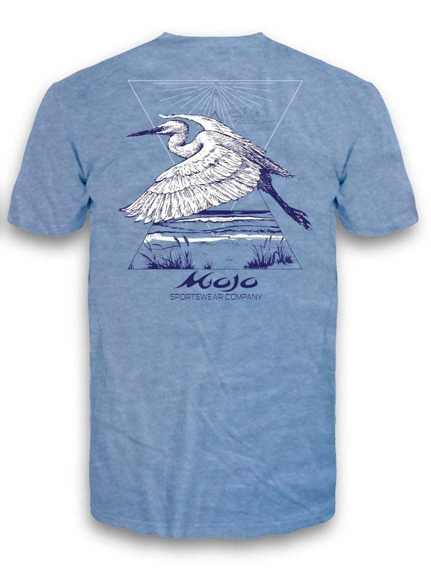 """Heron Bay"" Short Sleeve Pocket T-Shirt"