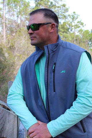 NEW! Slough Creek Softshell Fleece Vest