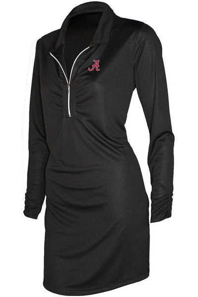 University of Alabama Ladies Shell Caye ¼ Zip Dress