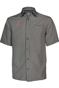 University of Alabama Mr. Big Sport Check Short Sleeve