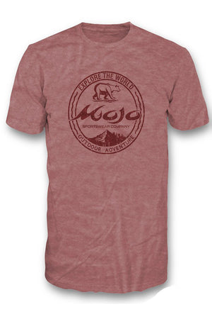 Outdoor Adventure Short Sleeve Tee - Mojo Sportswear Company
