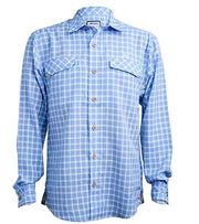 Traditional Coastal Plaid Long Sleeve