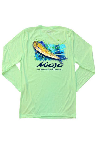 Long Sleeve Mahi Shatter T-Shirt