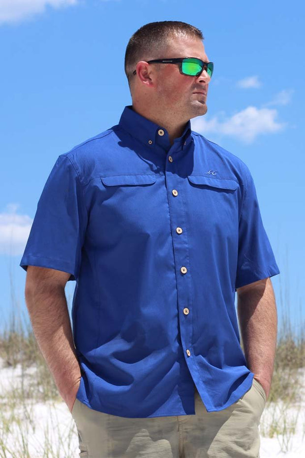 Mr. Big Short Sleeve Performance Vented Shirt - Mojo Sportswear Company