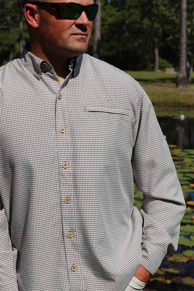 Mr. Big Sport Check Long Sleeve <br> BOGO 50% OFF - Mojo Sportswear Company