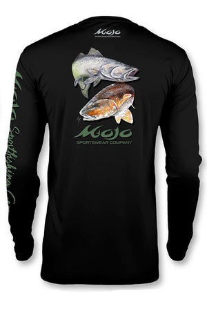 Performance Fish Redfish & Trout - Mojo Sportswear Company