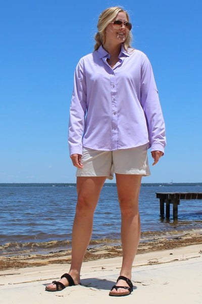 Ms. Cool Technical Fishing Shirt - Mojo Sportswear Company