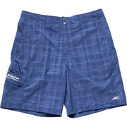 Plaid Tec Performance Shorts - Mojo Sportswear Company