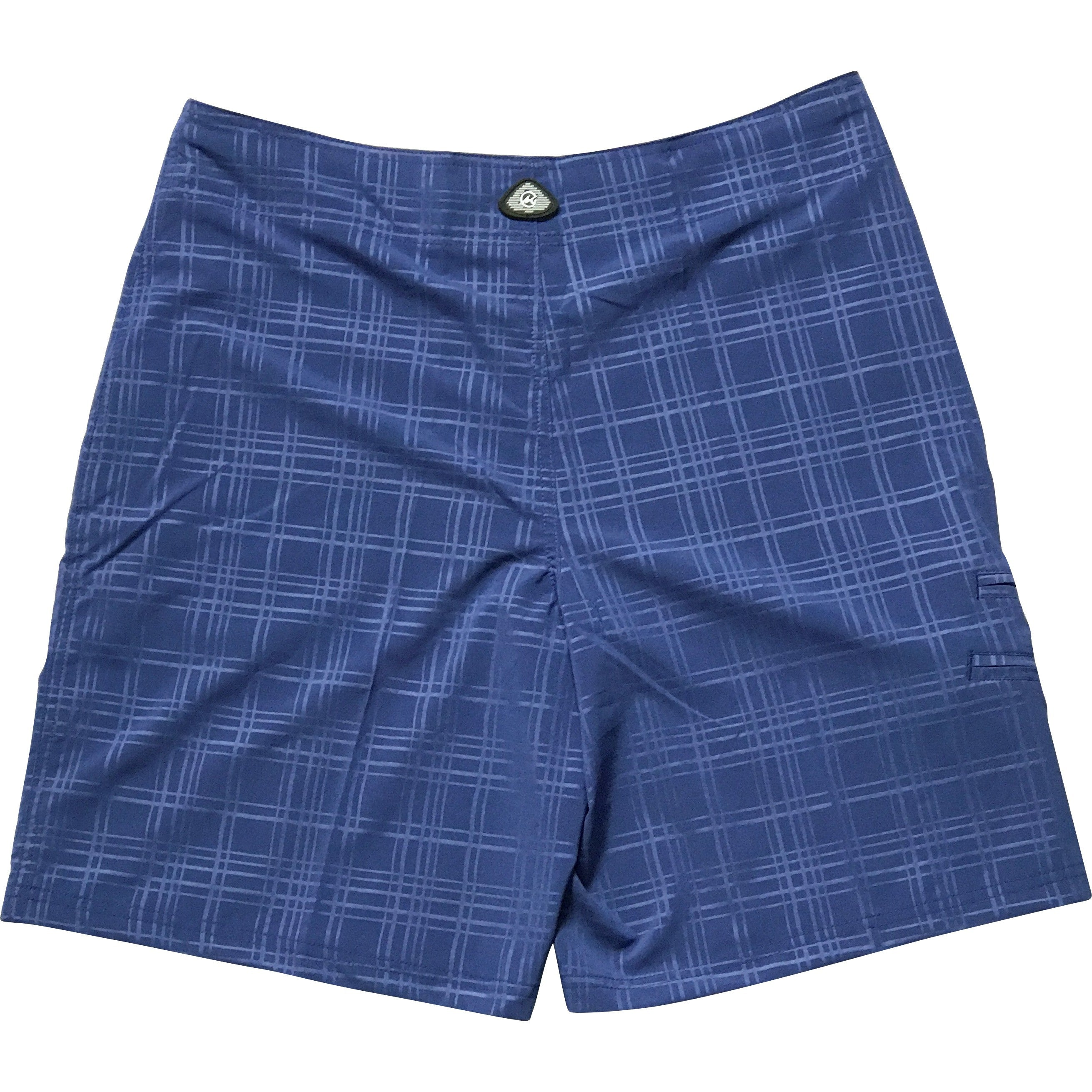 Plaid Tec Board Shorts