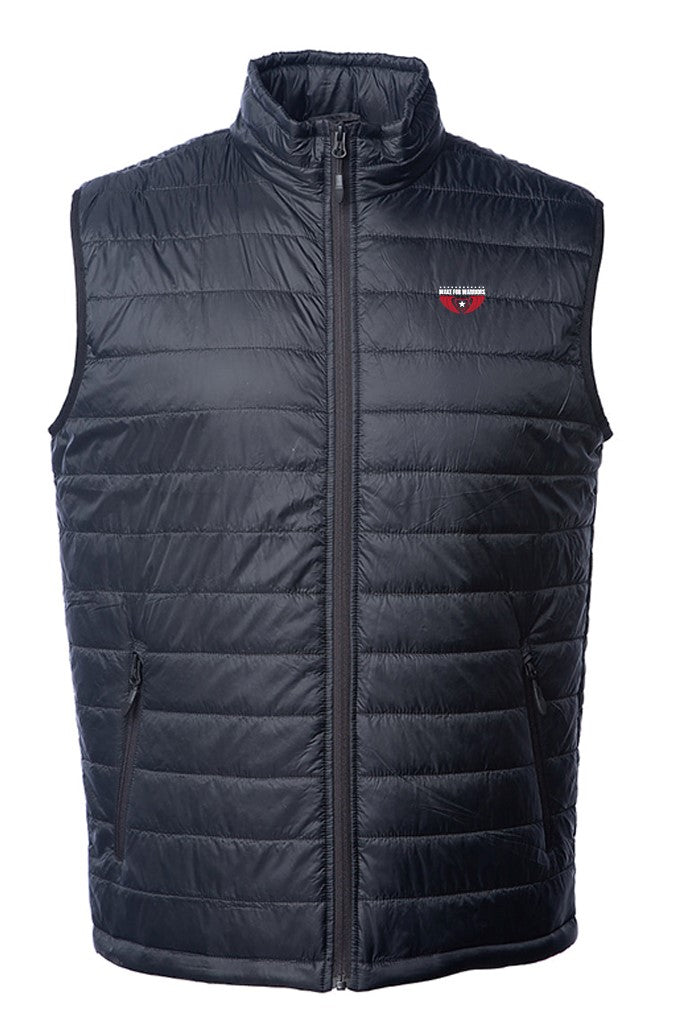 Wake For Warriors - Corporate Puffer Vest