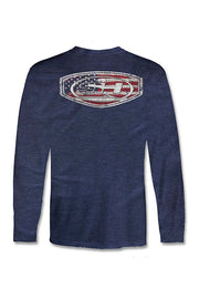 Sea Hunt Patriot Crest Long Sleeve T-Shirt