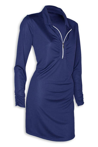 NEW! Ladies Shell Caye ¼ Zip Dress