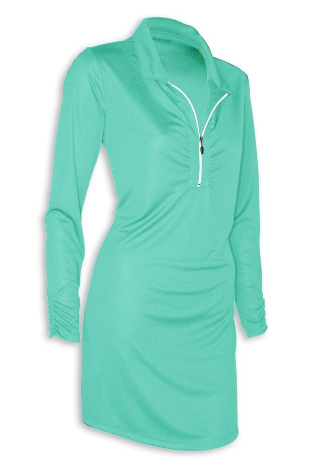 Ladies Shell Caye ¼ Zip Dress - Mojo Sportswear Company