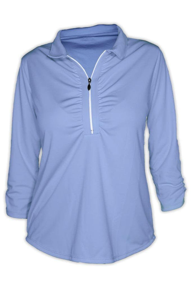 Ladies Shell Caye 1/4 Zip Pullover