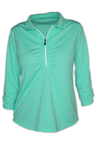 NEW! Ladies Shell Caye 1/4 Zip Pullover