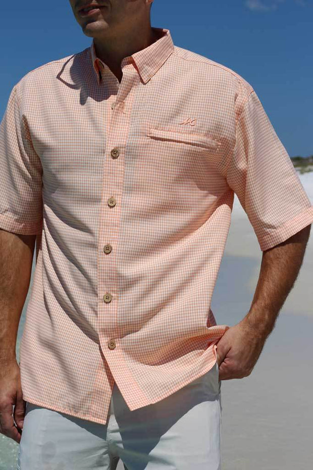 Mr. Big Sport Check Short Sleeve <br> BOGO 50% OFF - Mojo Sportswear Company