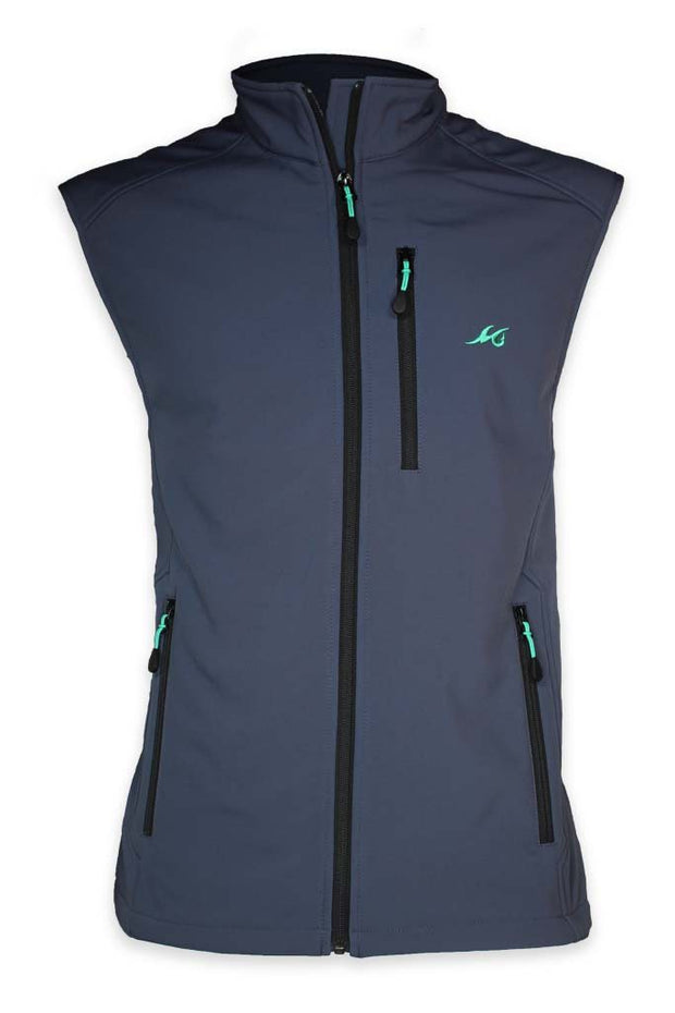 NEW! Slough Creek Softshell Fleece Vest - Mojo Sportswear Company
